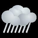天気・雨アイコンのフリー素材128px