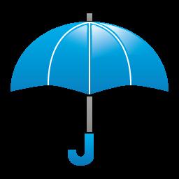 天気・雨2アイコンのフリー素材256px