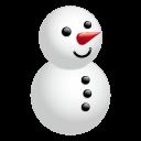 天気・雪2アイコンのフリー素材128px